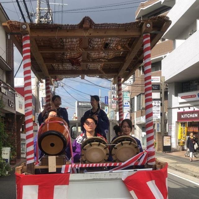 平成最後のお祭りは矢向!次はお正月。#山車 #投げ合い #神輿囃子 #テンテテスクステンスケテン #お祭り