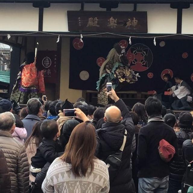 #節分 #豆撒き #神楽 #鬼 #日本文化